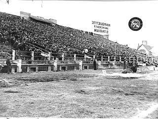 "New Marquette Stadium"" logo - Sports Logos - Chris Creamer's ..."
