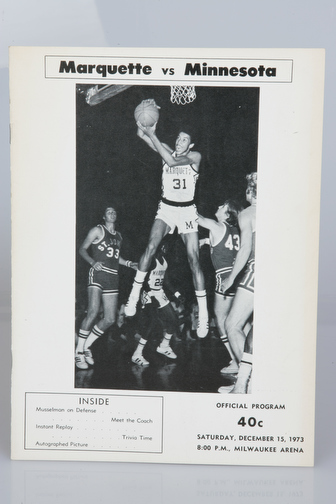 December 15, 1973 vs. Minnesota