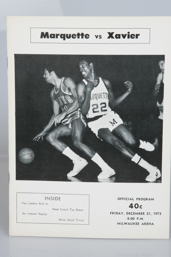 December 21, 1973 vs. Xavier (OH)