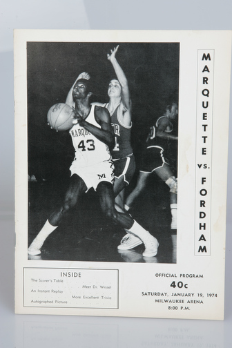 January 19, 1974 vs. Fordham