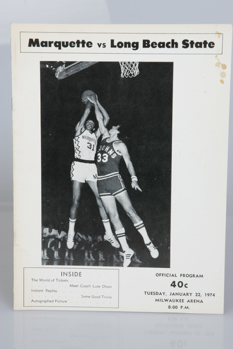 January 22, 1974 vs. Long Beach State