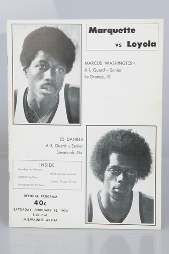 February 16, 1974 vs. Loyola (IL)