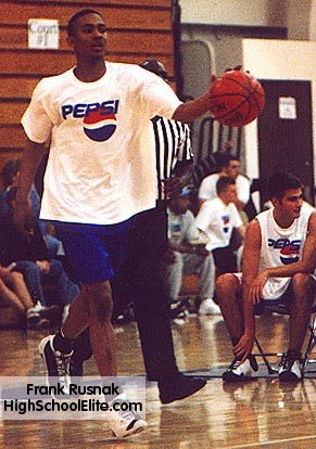 Ron Howard as a member of the AAU team, Illinois Select